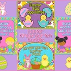 Easter Kindergarten Bundle ~ Printables & Game Cards Pre-K/K