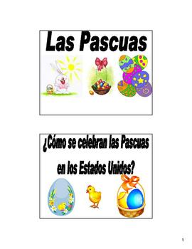 Easter (Las Pascuas)/Holy Week Bulletin Board/Flash Cards