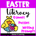 Easter Literacy Puzzles and Games
