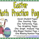 Easter Math Activities for Kindergarten