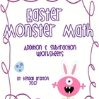 Easter Math - Addition & Subtraction