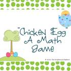 Easter Math Card Game