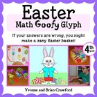 Easter Math Goofy Glyph (4th grade Common Core)