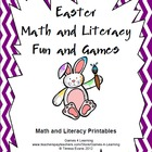 Easter Math and Literacy Fun and Games