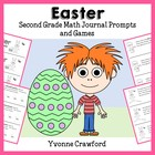 Easter Mathbooking - Math Journal Prompts and Games (2nd g