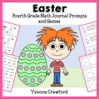 Easter Mathbooking - Math Journal Prompts and Games (4th g