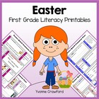 Easter Quick Common Core Literacy (first grade)