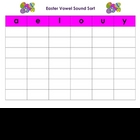 Easter Vowel Sound Sort