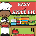 Easy As {Apple} Pie! {14 Apple Themed Centers for Kinderga