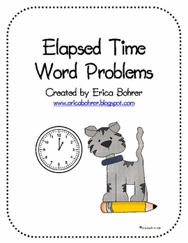 Easy Elapsed Time Word Problems