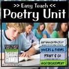 Easy Teach Poetry Unit