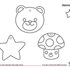 Easy Winter Craft Templates (2s) - Adornos de Temporada