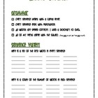 Easy and Efficient Writer's Checklist *FREEBIE*