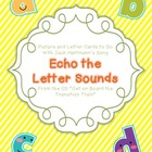 Echo the Letter Sounds (Jack Hartmann) Picture and Letter Cards