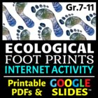 Ecological Footprints - Internet Activity