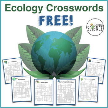 Ecology and Environmental Science Crossword Puzzles - Set