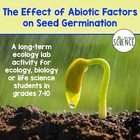 Ecology Lab: How is the Germination of Seeds Affected by A