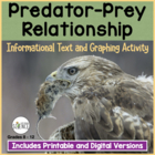 Ecology: Predator Prey Relationship Informational Text and
