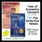 Economics Detective Series for Kids - Striker Jones 1 and 2 Combo