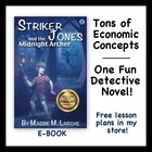 New Economics Mystery Novel that Teaches Econ to Kids (Str