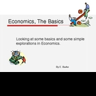 Economics, The Basics