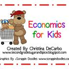 Economics for Kids Unit! Posters, Printables, Activities