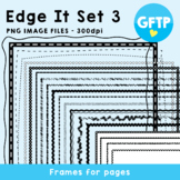 Edge It Set 3 -  Borders Great For Worksheet Edges!