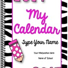 Editable Calendar and Planner {The Ultimate Organization P