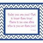 Dr. Seuss Chevron Quotes