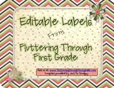 Editable Printable Labels Freebie