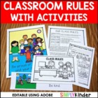 Editable Rules Posters & Activities { Simply Kinder}