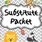 Editable Substitute Packet (Jungle Theme)