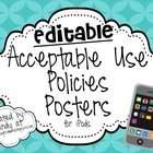 Editable iPod Rule Posters