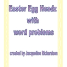 Egg Headz Puppets and Word Problems