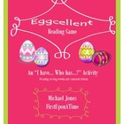 Eggcellent Reading Game - Long Vowels