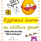 Egghead Addition Game! (Great Center or Workstation!)