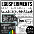 Eggsperiments for Teaching the Scientific Method {A Mini Unit}