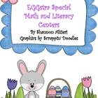 Eggstra Special Math and Literacy Center Activities