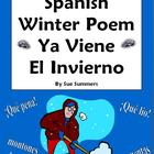 Spanish Winter Poem - Ya Viene El Invierno - Spanish Poetry