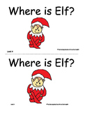 Elf on the Shelf Printable Book with Word Cards and Respon