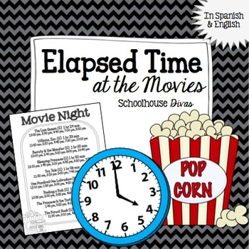 Elapsed Time:  At the Movies!  English & Spanish (4th - 6th)