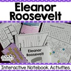 Eleanor Roosevelt Interactive Notebook Activities (Histori