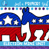 Election and President Mini Unit - Reader, Poem & Activiti