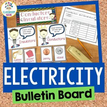 Electricity Bulletin Board with Student Activity Sheets (
