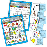 Elementary Art BINGO for Visual Art Elements Art Education