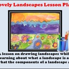Elementary Art Lesson - Lovely Landscapes