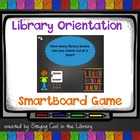 Elementary Library Orientation Game