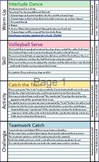 "Elementary Physical Education ""Mix and Match"" Lesson Plans"