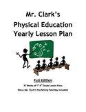 Elementary Physical Education Yearly Plan with Field Day