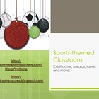 Elementary Sports Themed Classroom